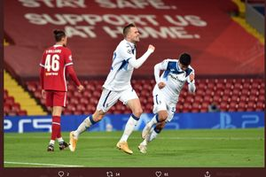 Atalanta Hajar Liverpool 2-0 di Anfield, Gasperini Puas dengan Performa Josip Ilicic Cs