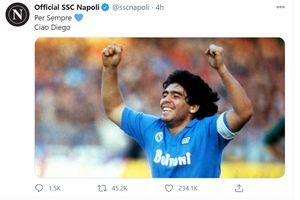 Cerita Maradona yang Tak Jujur pada Rekan Soal Gol Tangan Tuhannya