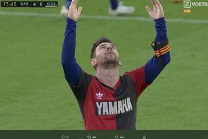Selebrasi Messi untuk Maradona Berujung Petaka, Barcelona Kena Getahnya