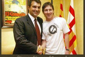 Calon Presiden Barca Ingin Rayakan Hal Ini dengan Lionel Messi di 2024