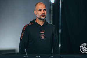 Baju Pep Guardiola Jadi Pembicaraan Hangat di Laga Manchester City Vs Monchengladbach