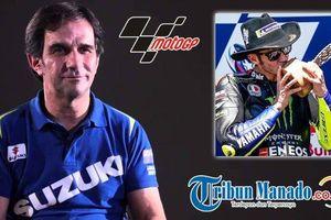 Pantang Ratapi Kesedihan, Suzuki Tepis Kehadiran Tangan Kanan Valentino Rossi