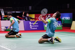 Berbekal 3 Rubber Game & 2 Perang Saudara, Youngster Indonesia Diuji Lagi di Semi Final Thailand Open I 2021