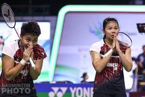 Momen Video Greysia/Apriyani di Podium Thailand Open 2021 Bikin Netizen Baper