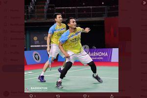 Hasil Yonex Thailand Open 2021 - Tumbang dari Ganda Korea Selatan, The Daddies Gagal Ikuti Jejak Juniornya
