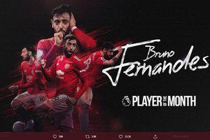 Jadi Pemain Terbaik Liga Inggris Desember 2020, Bruno Fernandes Cetak Rekor Langka