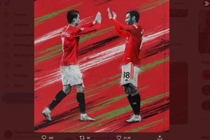 Respon Pewaris Cristiano Ronaldo soal Julukan Raja Penalti Manchester United