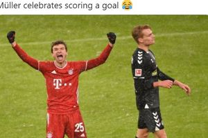 Hasil Lengkap dan Klasemen Bundesliga - Luka Jovic Langsung Jadi Pahlawan Frankfurt, Mueller Buat Bayern Nyaman di Puncak