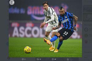 Arturo Vidal Jadi Kunci Penting Inter Milan Hajar Juventus di Liga Italia