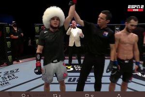 UFC Fight Island 8 - Khabib Mini Beraksi, Menang Gemilang di Laga Debut