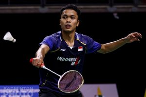 Hasil BWF World Tour Finals 2020 - Takluk dari Chou, Kans Anthony Makin Tipis