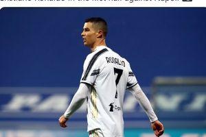 Ronaldo Tak Mampu Lepaskan Tembakan Tepat Sasaran, Juventus vs Napoli Imbang di Babak Pertama