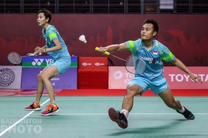 Thailand Open II 2021 - Hafiz/Gloria Mengaku Kurang Maksimal pada Perempat Final