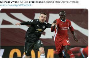 Manchester United Vs Liverpool Jilid 2, Ini Prediksi Michael Owen