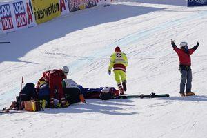 Terlibat Kecelakaan Horor, Atlet Ski Es Ini Langsung Tak Berdaya