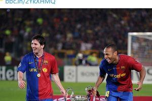 Lionel Messi Pernah Tak Bisa Tatap Wajah Thierry Henry, Kenapa?