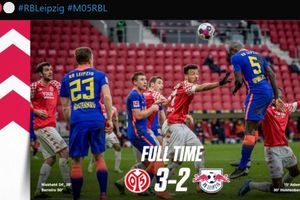 Hasil dan Klasemen Bundesliga - Kompak, RB Leipzig dan Leverkusen Sama-sama Keok