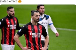 Liga Italia - Zlatan Ibrahimovic Bikin Catatan Spesial, AC Milan Malah Tumbang dari Atalanta