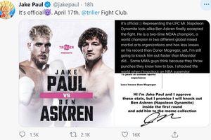 Dipecundangi Petinju Youtuber, Legenda UFC Terpukul Berat