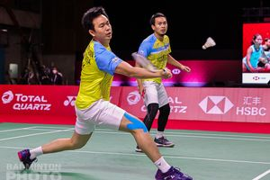 BWF World Tour Finals - Ahsan/Hendra Kewalahan Diserang Balik Choi/Seo