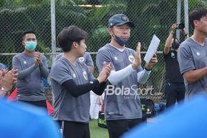 Shin Tae-yong Ikut Bahagia Turnamen Sepak Bola Nasional Mulai Bergulir