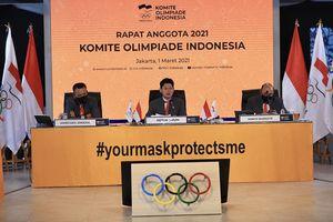 Seragam Kontingen Indonesia untuk Olimpiade Tokyo Dipasok dari China