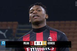 Salto Rafael Leao Belum Selevel Ibrahimovic,  AC Milan vs Udinese Masih Kacamata