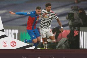 Hasil Babak I Crystal Palace vs Man United - Tim Tamu Lepas Tujuh Tembakan, Skor Masih Tanpa Gol