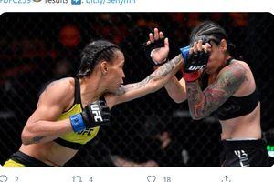 Hasil UFC 259 - Peringkat 15 Divisinya Zhang Weili Kalah KO Pertama