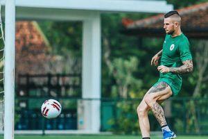 PSS Jumpa Persib Bandung di Semifinal Piala Menpora 2021, Aaron Evans Incar Hasil Positif