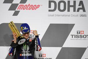 Cerita Fabio Quartararo yang Menangi MotoGP Doha karena Pakai Otaknya