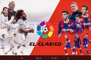 Link Live Streaming El Clasico Real Madrid Vs Barcelona Liga Spanyol
