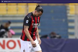Susunan Pemain AC Milan vs Sassuolo - Laga Ke-21 Tanpa Zlatan Ibrahimovic