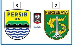 Hasil Piala Menpora 2021 - Persib Lolos ke Semifinal dengan Drama 5 Gol dan 2 Kartu Merah