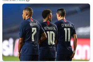 PSG Lolos ke Semifinal, Mbappe-Neymar-Di Maria Genius karena Satu Hal