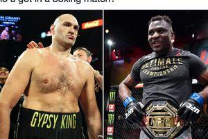 Juara Tinju Dunia Yakin Habisi Raja Kelas Berat UFC  di Ronde Kesatu