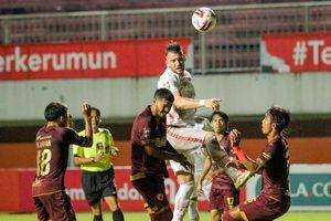 Persija Jakarta Vs PSM Makassar Masih Sama Kuat pada Babak Pertama