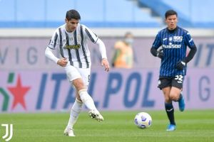 Tanpa Cristiano Ronaldo, Juventus Kesulitan Jebol Gawang Atalanta di Babak I