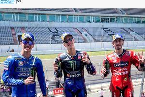 Menangi MotoGP Portugal 2021, Quartararo: Hadiah Terbaik Sebelum Ulang Tahun!