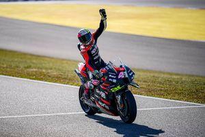 Tiga Kali Masuk 10 Besar, Aleix Espargaro dan Aprilia Hantam Gengsi KTM hingga Repsol Honda