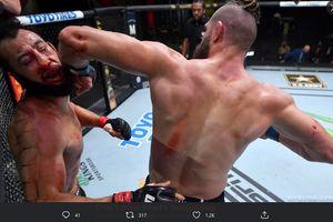 Dampak Fatal Sikutan Horor, Jagoan UFC Dilarang Duel Enam Bulan