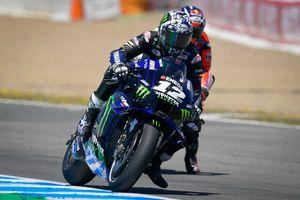 MotoGP Prancis 2021 - Maverick Vinales Kepikiran Tambalan Aspal di Sirkuit Le Mans