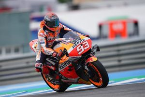 Marc Marquez Sembunyikan Masalah Fisik Sebenarnya pada MotoGP 2021