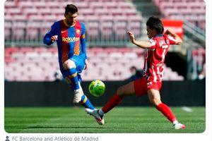 Hasil Liga Spanyol - Imbang Tanpa Gol, Kutukan Atletico Madrid di Kandang Barcelona Berlanjut