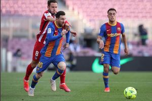Susunan Pemain Levante Vs Barcelona - Lionel Messi Cs Bisa Rebut Singgasana Atletico Madrid