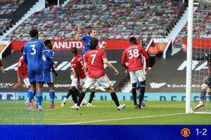 Hasil Liga Inggris - Man United Takluk dari Leicester City, Man City Resmi Juara