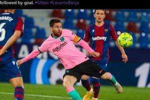 Hasil Liga Spanyol - Gol Keren Lionel Messi Sia-sia, Barcelona Buang Kesempatan ke Puncak