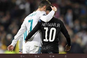 Tak Puas Main Bareng Messi & Mbappe, Neymar Ingin Jadi Rekan Ronaldo