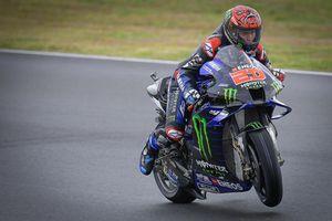 MotoGP Prancis 2021 - Ingin Bayar Tuntas Kesalahan, Fabio Quartararo Banyak Belajar Kuasai Trek Basah