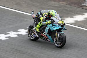 MotoGP Prancis 2021 - Raih Start Apik, Rossi Malah Takut Setengah Mati